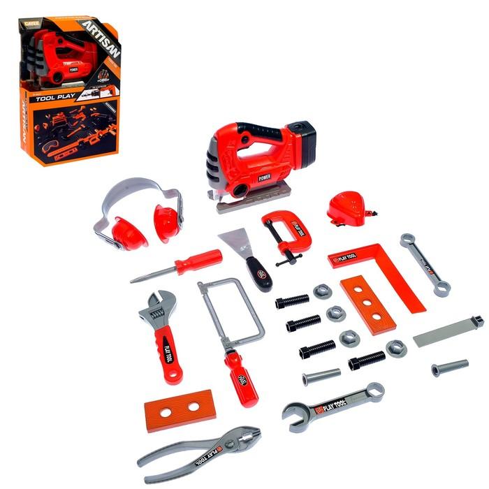 Набор инструментов «Мастер ремонта», 25 предметов, работает от батареек
