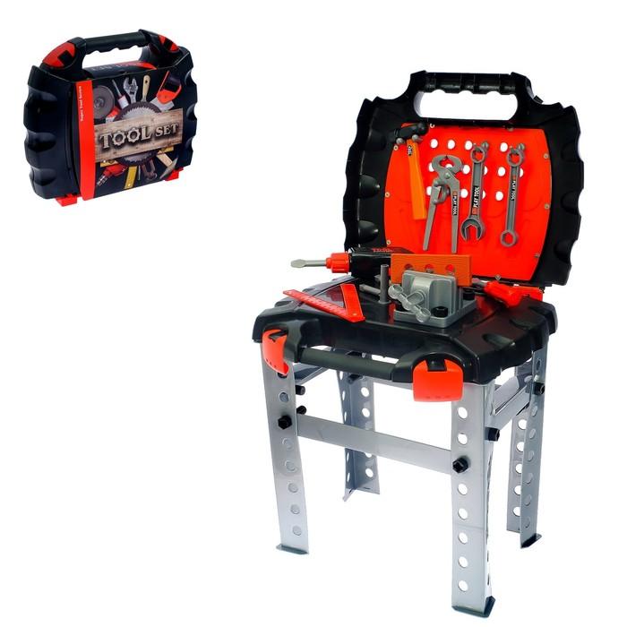 Верстак с инструментами «Дежурный чемоданчик», 40 предметов