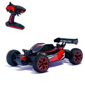 Car RC Buggy, 1:18 scale, 4WD, 20 km/h with battery