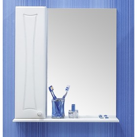 Шкаф-зеркало Карина 50, левый