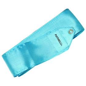 Лента гимнастическая PASTORELLI одноцветная 4 м, цвет голубой
