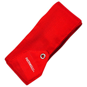 Лента гимнастическая PASTORELLI одноцветная, 6 м, FIG, цвет красный