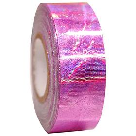 Обмотка для гимнастических булав и обручей GALAXY, цвет розовый металлик