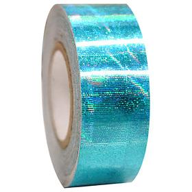 Обмотка для гимнастических булав и обручей GALAXY, цвет голубой металлик