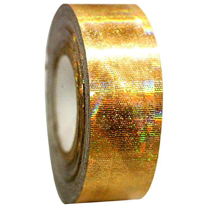 Обмотка для гимнастических булав и обручей GALAXY, цвет золотой металлик