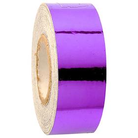 Обмотка для гимнастических булав и обручей New VERSAILLES с эффектом зеркального отражения, цвет фиолетовый