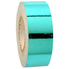 Обмотка для гимнастических булав и обручей New VERSAILLES с эффектом зеркального отражения, цвет голубой