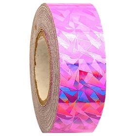 Обмотка для гимнастических булав и обручей NEW CRACKLE металлик, цвет розовый