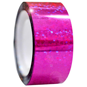 Обмотка для гимнастических булав и обручей Diamond клейкая, цвет малиновый металлик