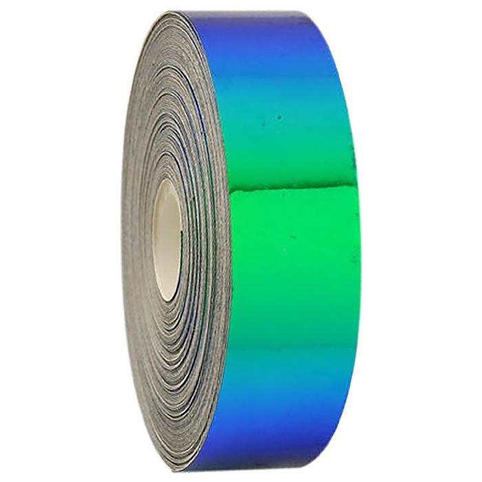 Обмотка лазерная LASER, длина 11 м, ширина 1,9 см, цвет синий/зелёная