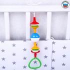 Подвеска детская «Непоседа» на кроватку/коляску, цвет МИКС