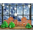 Набор для декора окон «Праздничное настроение», 21 × 29,7 см - фото 695666