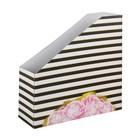 Органайзер для скрап бумаги «Цветочная фантазия», 31 х 31 х 9,5 см