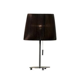 Настольная лампа Strasburg 1x75Вт E27 шоколад 30x30x30см