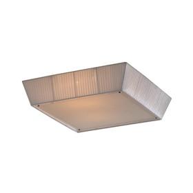 Светильник Flumineze 4x75Вт E27 белый 58x58x17см