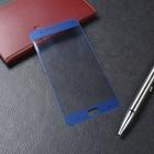 Стекло закаленное с цветной рамкой (fullscreen) для Xiaomi Mi Note 3 DF xiColor-25 (blue)