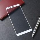Стекло закаленное с цветной рамкой (fullscr) для Xiaomi Mi A2 (Mi 6X) DF xiColor-28 (white)