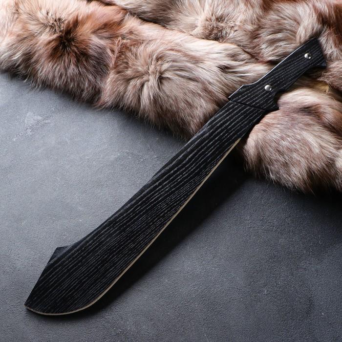 """Сувенир деревянный """"Мачете"""", 65 см, массив ясеня"""