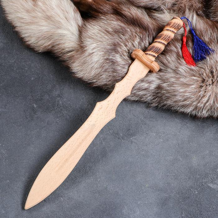 """Сувенир деревянный """"Клинок Лорда"""", 46 см, массив бука, микс - фото 725859952"""