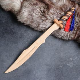 """Сувенирное деревянное оружие """"Клинок самурая"""", массив бука, 46 см, микс"""