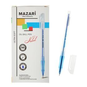 Ручка шариковая Mazari Nebel Ultra Soft, 1.0 мм, синяя, на масляной основе