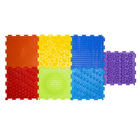 Детский массажный коврик «Орто», 7 модулей, набор «Радуга»