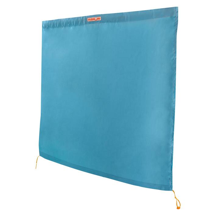 Дополнительная шторка к манежу цвет голубой
