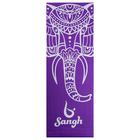 """Коврик для йоги в чехле """"Слон"""" 173х61х0,4 см"""