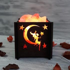 Светильник 'Фея мини' 1,4кг красная соль Пакистан 15x16x20см Ош