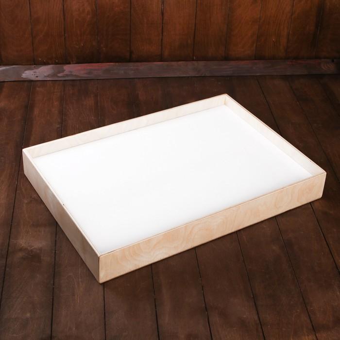 Планшет для рисования песком 42х60 см фанера оргстекло сцветной подсветкой и пультом