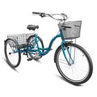 """Велосипед 26"""" Stels Energy-VI, V010, цвет темно зеленый, размер 17"""""""