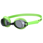Очки для плавания детские ARENA Bubble 3 Jr, дымчатые линзы, цвет салатовый