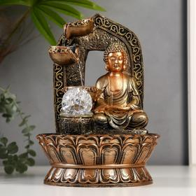 "The fountain table from the network, highlighting ""the Buddha in the arch with the waterfall"" 30х21х21 cm"