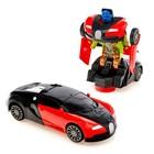 Машина «Автобот», трансформируется, световые и звуковые эффекты, работает от батареек, цвета МИКС - фото 1013090