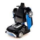 Машина «Автобот», трансформируется, световые и звуковые эффекты, работает от батареек, цвета МИКС - фото 1013094