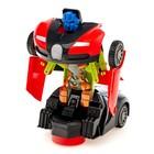 Машина «Автобот», трансформируется, световые и звуковые эффекты, работает от батареек, цвета МИКС - фото 1013098