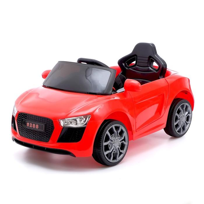 Электромобиль Spyder, с радиоуправлением, цвет красный
