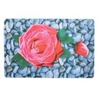 """Коврик для дома """"Роза на камнях"""" 40х60 см"""