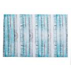 "Коврик для дома ""Цветное дерево"" 38х58 см, голубой"