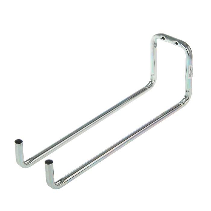 Крюк, до 5 кг, d=12 мм, 90х120х330 мм, оцинкованный