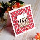 открытки ручной работы на день святого валентина