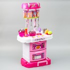 """Игровой модуль """"Волшебная кухня-чемоданчик"""" феи ВИНКС, 18 предметов + наклейки - фото 105579166"""