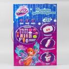 """Игровой модуль """"Волшебная кухня-чемоданчик"""" феи ВИНКС, 18 предметов + наклейки - фото 105579176"""