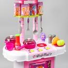"""Игровой модуль """"Волшебная кухня-чемоданчик"""" феи ВИНКС, 18 предметов + наклейки - фото 105579167"""