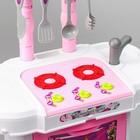 """Игровой модуль """"Волшебная кухня-чемоданчик"""" феи ВИНКС, 18 предметов + наклейки - фото 105579168"""