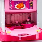 """Игровой модуль """"Волшебная кухня-чемоданчик"""" феи ВИНКС, 18 предметов + наклейки - фото 105579169"""