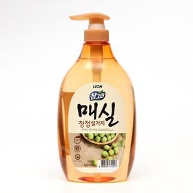 Средство для мытья посуды Chamgreen Японский абрикос, флакон-дозатор, 960 мл