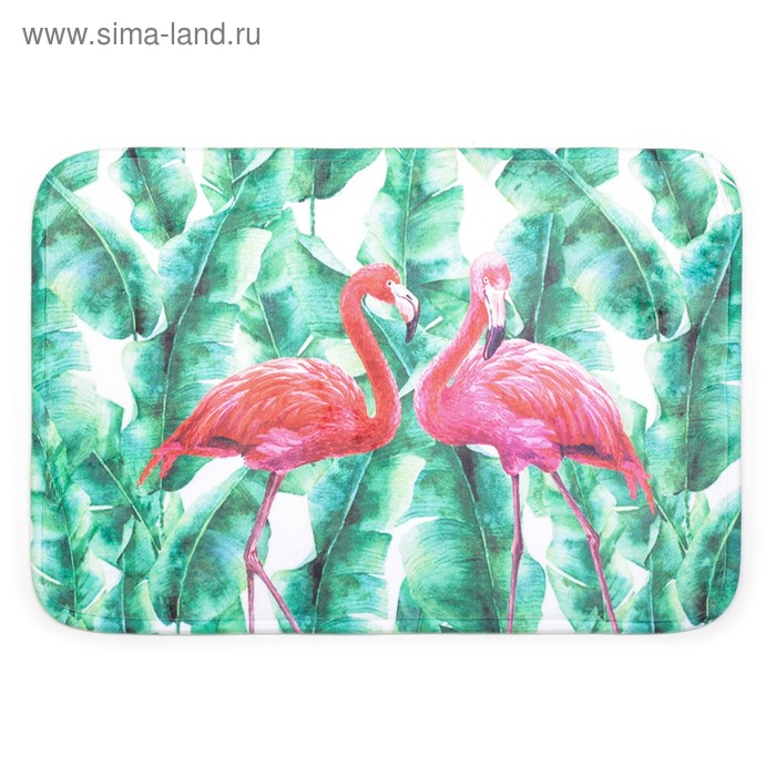 Bath Mat, Flamingo