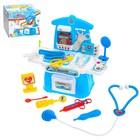 Игровой модуль «Маленький врач» с аксессуарами, 14 предметов - фото 105582480