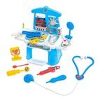 Игровой модуль «Маленький врач» с аксессуарами, 14 предметов - фото 105582481